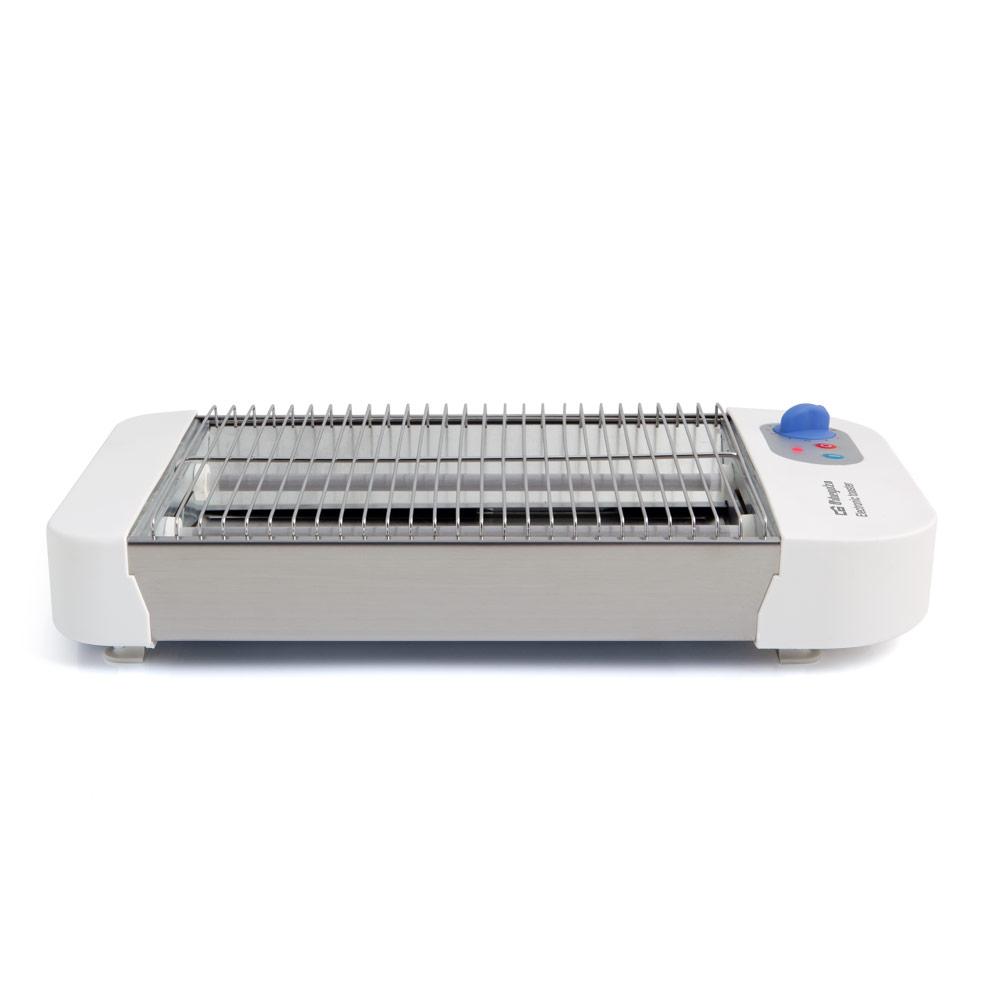 Accesorios de Cocina Tostador Orbegozo Tostador TO1010 600W Blanco//INOX
